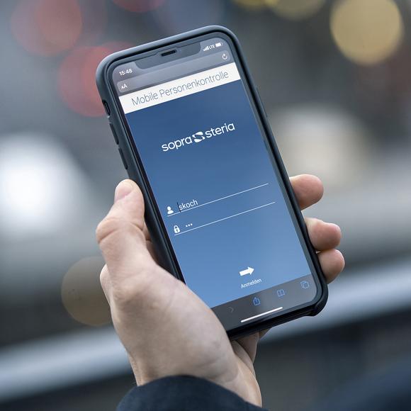 Mobile Personenkontrollevia Smartphone